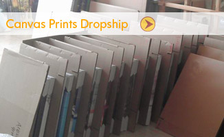 dropship canvas prints china supplier
